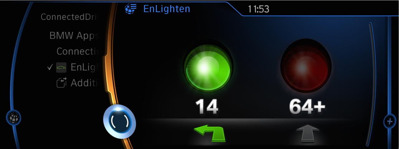 BMW EnLighten app
