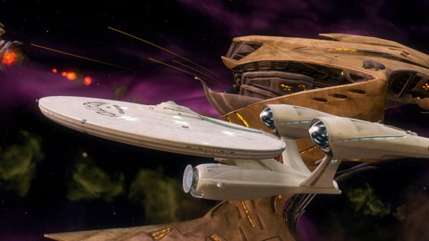 Enterprise & Gorn Ship