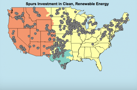 EPA Clean Energy Plan Map