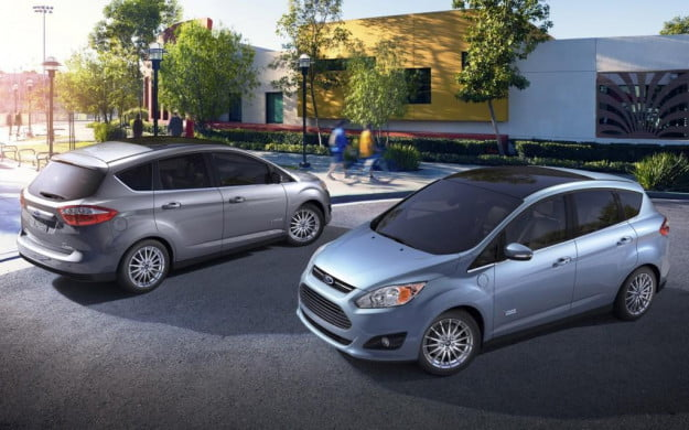 EPA hat trick Ford C-Max hybrid earns official 47 mpg rating across the board