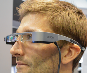 Yes, Epson makes headsets. And the BT-300 is a step torward the AR future