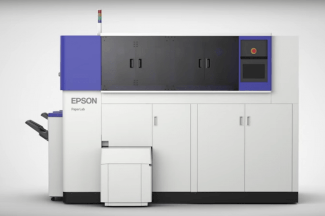 Epson PaperLab paper recycling process