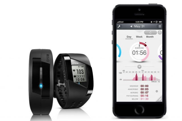 epson runsense and pulsense fitness trackers