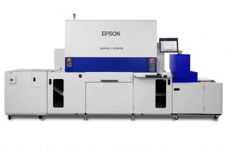The Epson SurePress L-6034VW digital press is one of the first products to use this new tech. Epson will use PrecisionCore in smaller printers too.