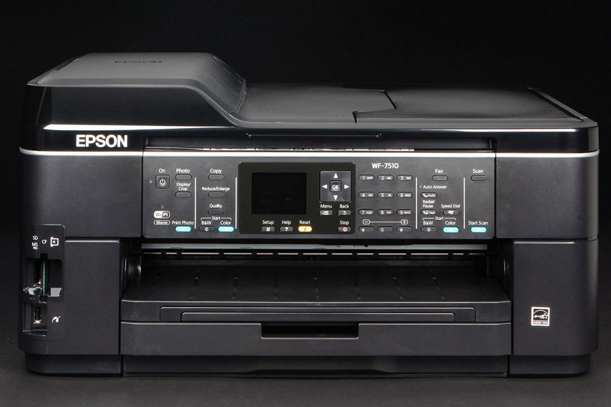 printer buying guide epson wf  front closed