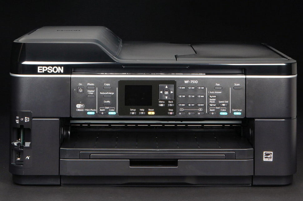 Epson WF-7510 front closed