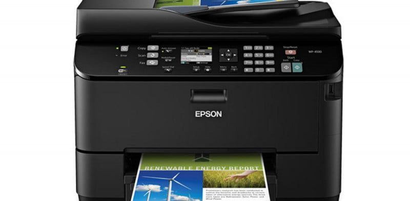 epson workforce pro wp  review press image