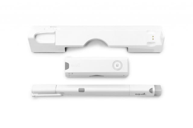 equil smartpen  one digital pen rule turning ink paper files