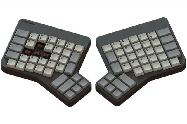 pre assembled ergodox ergonomic keyboard goes on order today