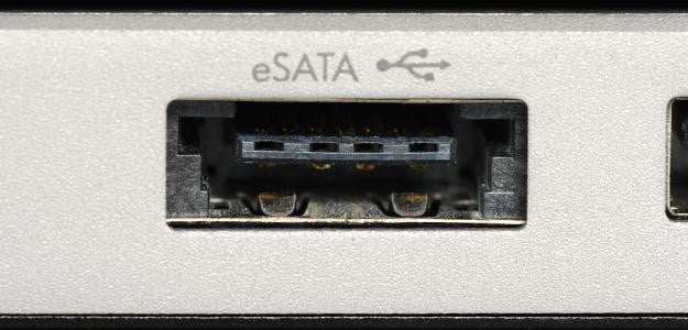 eSATA port pc connection