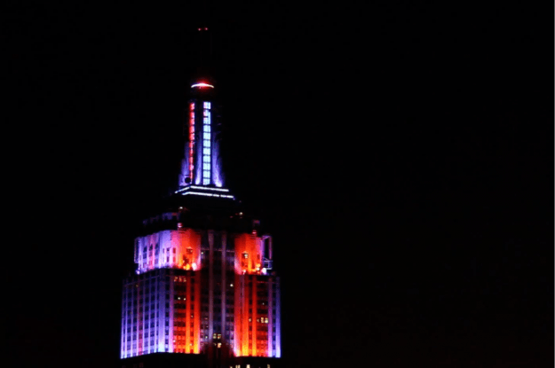 ESB Light show fourth of july
