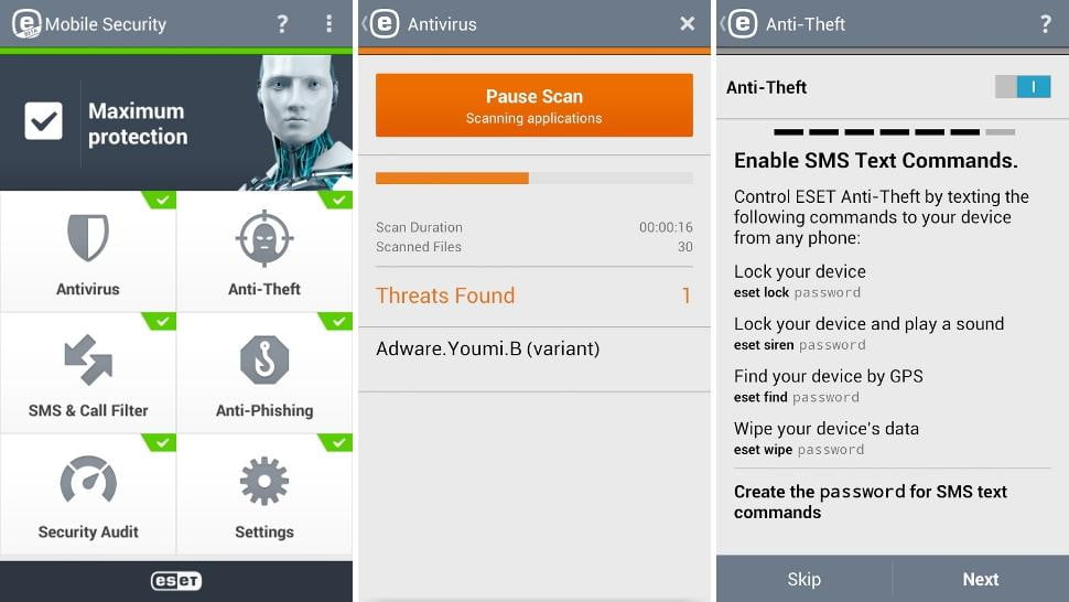 eset android security app
