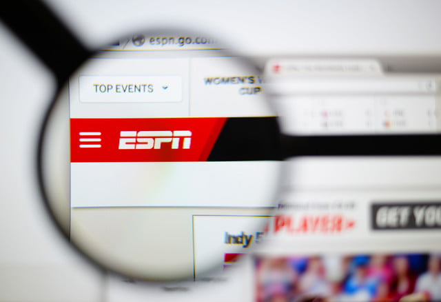 espn pulls its videos from youtube over rights issues