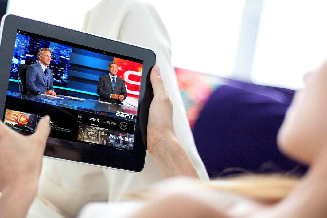 espn in discussions to expand streaming no standalone service sports center on sling tv through tablet