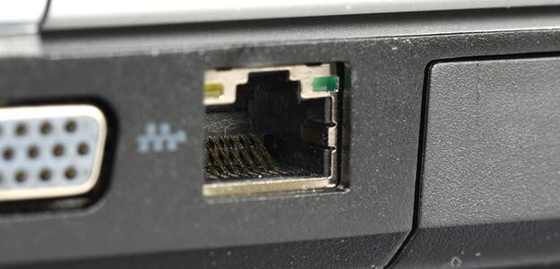 Ethernet port pc connection