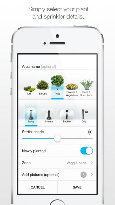 etwaters unity app shows you if are overwatering your lawn etwater