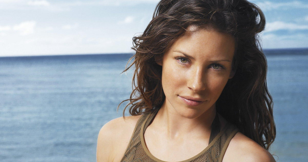 evangeline lilly with both - photo #4