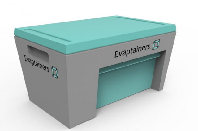 evaptainer is an electricity free refrigerator fridge