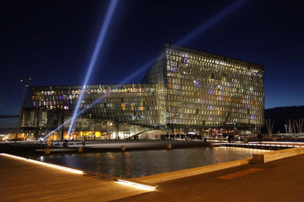 EVE-FanFest-Harpa-at-night