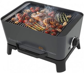 everdure-e-churrasco-barbecue-grill black
