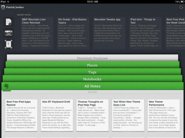 Evernote-for-iPad