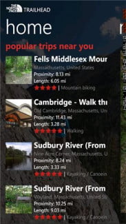 every_trail iOS android screenshot