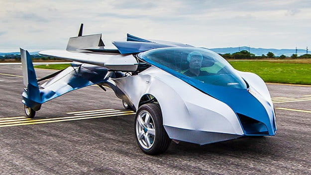 Aeromobile 2.5 flying car