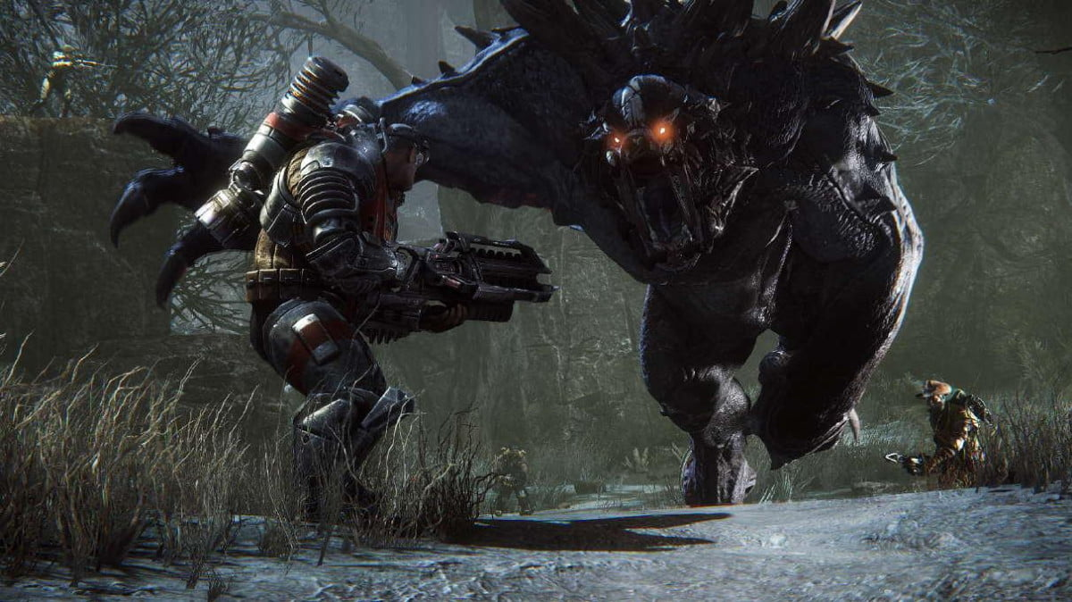 evolve open beta comes xbox one january  big alpha postponement