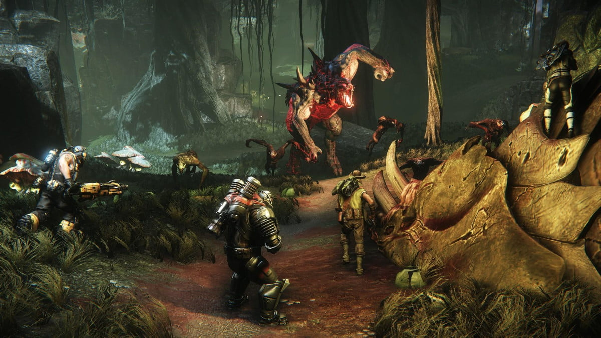 evolve isnt february  can play gameplay