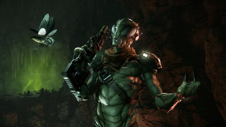 evolve adds hunters maps a monster and more on march  slim