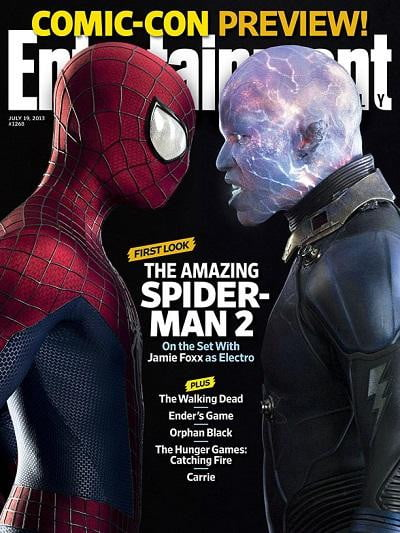 a look at the state of all marvel movies currently in development ew cover spidey and electro