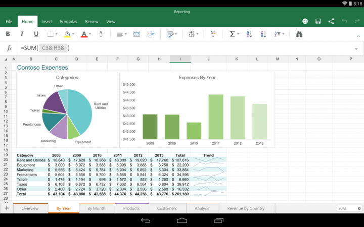 microsoft free ios apps excel for android preview  x