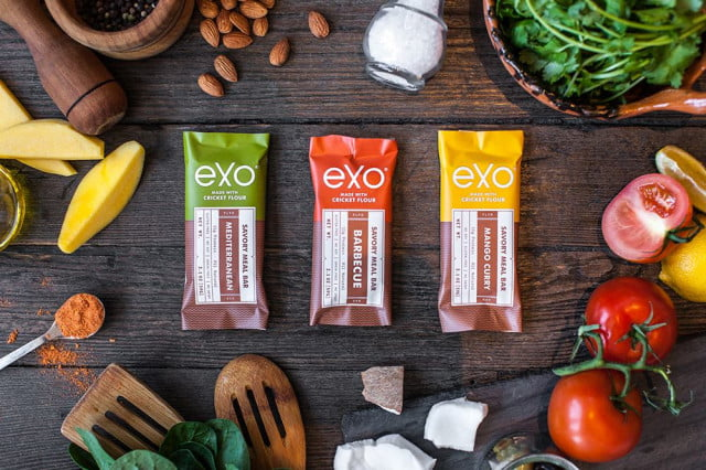 bug startup makes protein bars from crickets exo just raised  million to make out of cricket flour