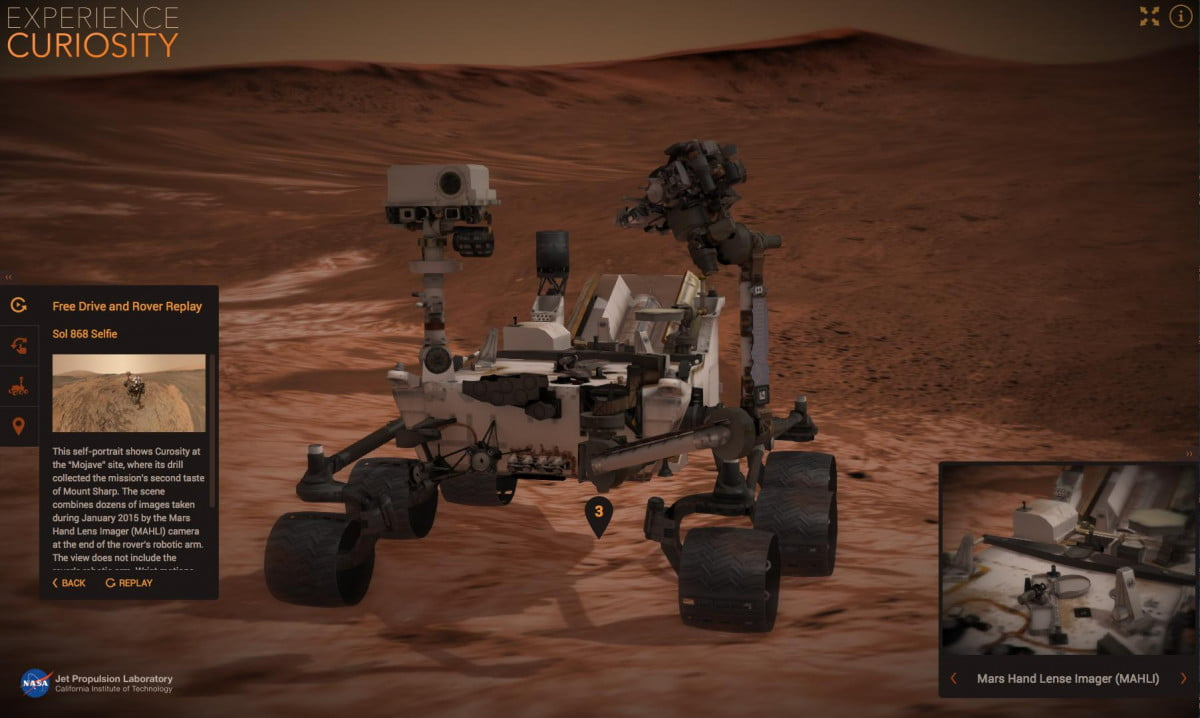 nasa debuts two online tools for exploring mars exp curiosity