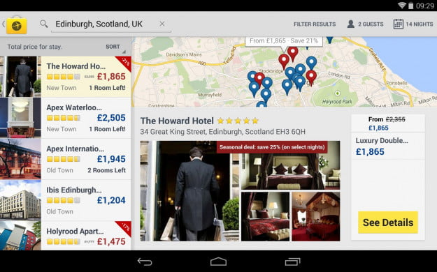 Expedia_Android_tablet_app_screenshot