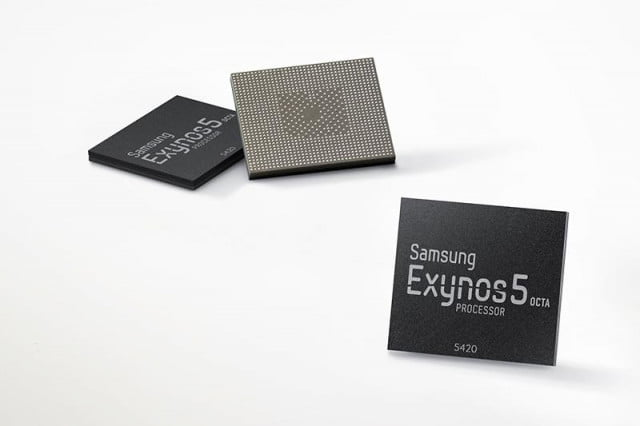exynos  octa to use all eight cores at one time