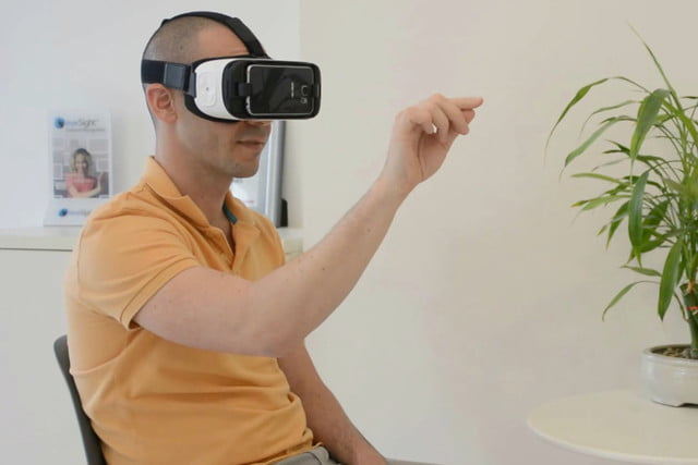 eyesight gesture control virtual reality