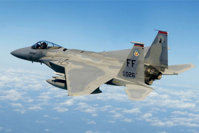 united states air force to have laser armed fighter jets by  f st squadron in flight