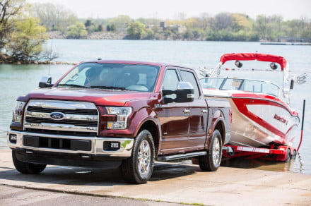 Need to park a trailer? Ford's