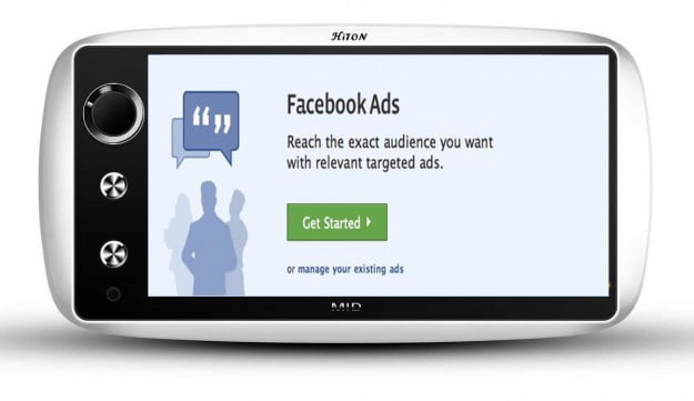 facebook ads phone