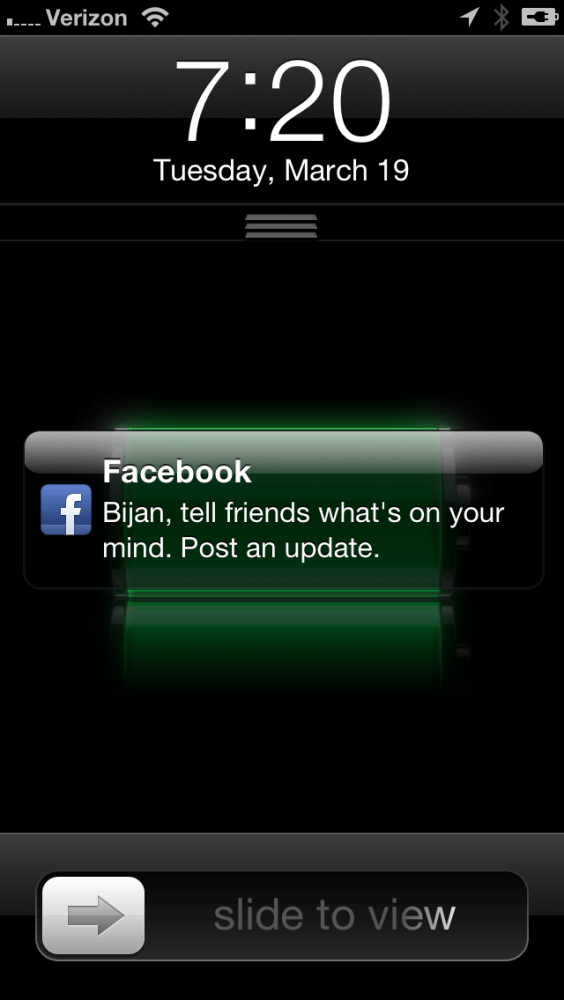facebook annoying push notification