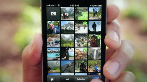 Facebook's camera app for iOS functions similar to Instagram, but not quite