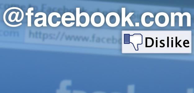 facebook email address controversy