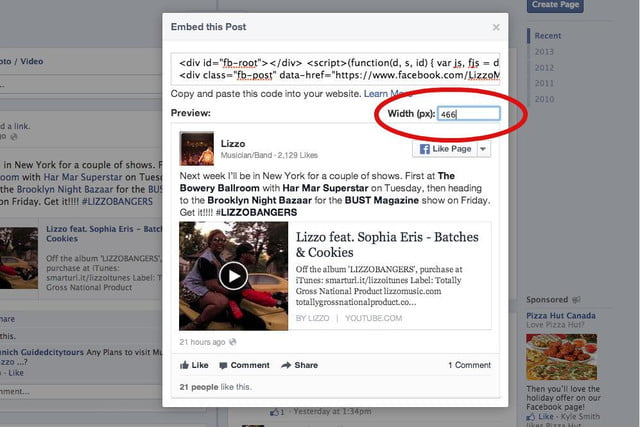 facebook improves embedded like share buttons embed