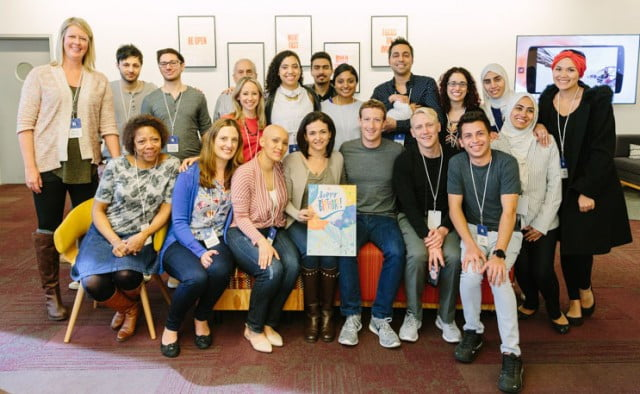 facebook diversity report friends day event at hq
