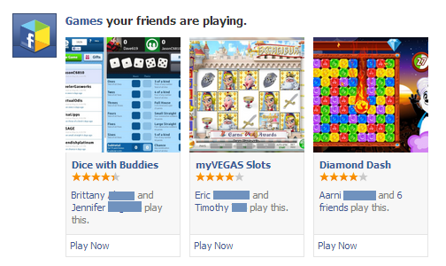 facebook games your friends are playing