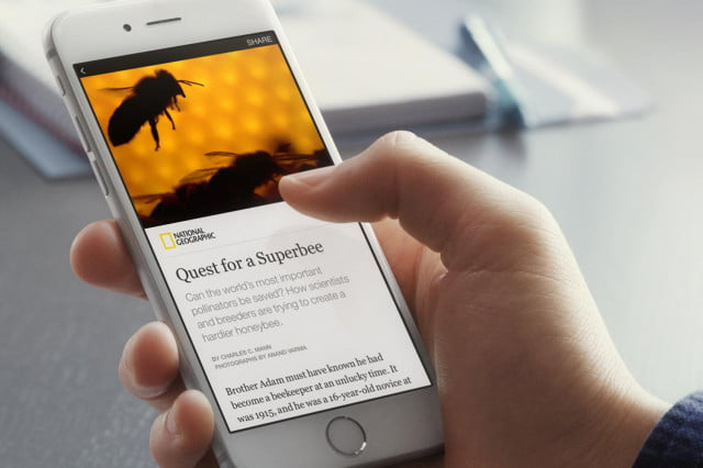 facebook messenger supports instant articles