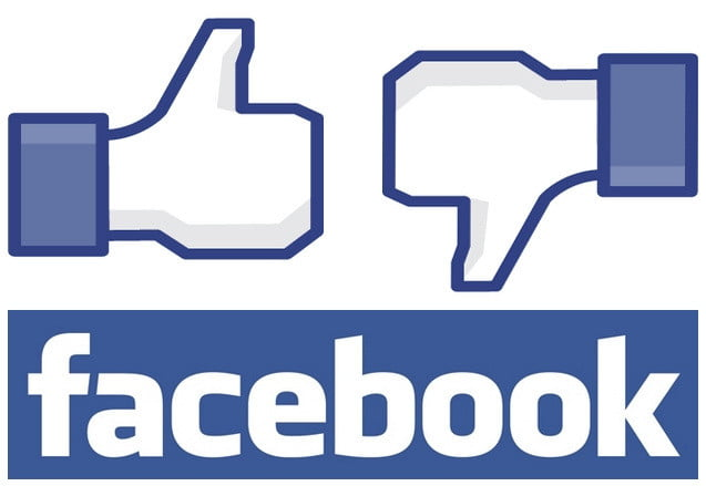 facebook like and dislike
