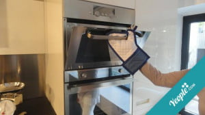 Facebook Like oven mitt