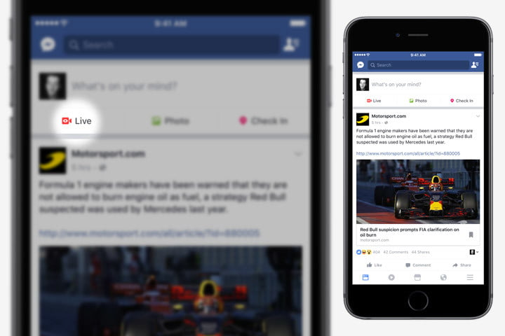 How To Go Live On Facebook Digital Trends